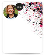 Globule Children&#039;s Personalized Photo Stationery