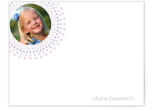 Joyful Bursts Children&#039;s Personalized Photo Stationery