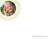 Joyful Bursts Children's Personalized Photo Stationery