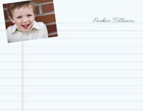 Love to Learn Children's Personalized Photo Stationery
