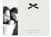 Paris + Vintage Ribbon Children&#039;s Personalized Photo Stationery