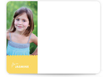 Dotty Children's Personalized Photo Stationery