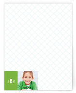 prep school Children&#039;s Personalized Photo Stationery