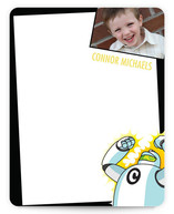 Robot Children&#039;s Personalized Photo Stationery