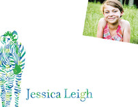 Zebra Children's Personalized Photo Stationery
