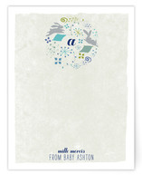 My Very First Monogram Children's Personalized Stationery