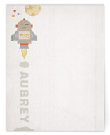 Blast Off! Children&#039;s Personalized Stationery