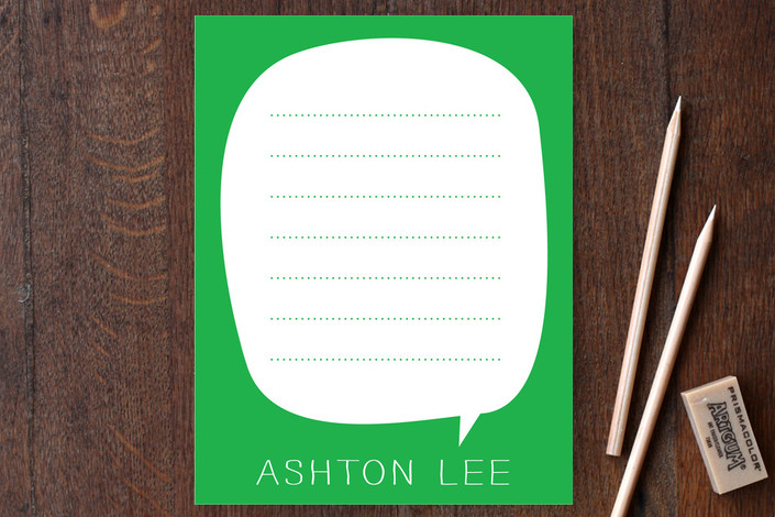 Simon Says Children's Personalized Stationery
