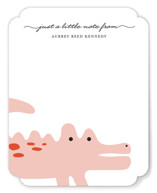 Little Alligator Children&#039;s Personalized Stationery