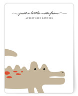 Little Alligator Children's Personalized Stationery