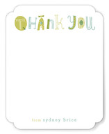 Quirky Thank You Children&#039;s Personalized Stationery