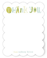 Quirky Thank You Children's Personalized Stationery