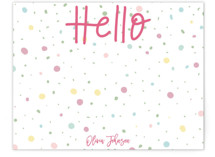 Fun Hello by Sweetgrass Paper Company