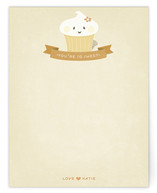 Thanks, Cupcake Children&#039;s Personalized Stationery
