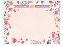 Princess Garden Children&#039;s Personalized Stationery