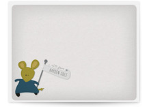A Mousey Message Children&#039;s Personalized Stationery
