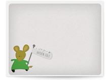 A Mousey Message Children's Personalized Stationery