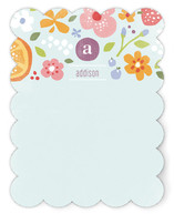 Fruits + Flora Children's Personalized Stationery