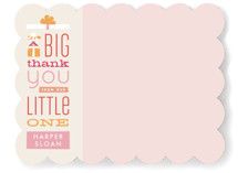 Gifted Thanks Children&#039;s Personalized Stationery