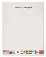 Globetrotter Children's Personalized Stationery