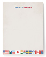 Globetrotter Children&#039;s Personalized Stationery