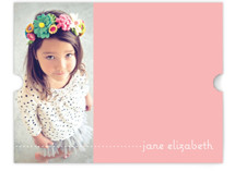 Plain Jane Children&#039;s Personalized Stationery