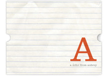 A Letter for You Children's Personalized Stationery