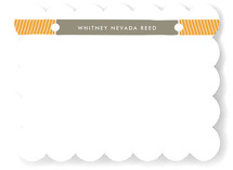 Keeping Tabs Children's Personalized Stationery