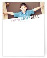 See Through Name Children&#039;s Personalized Stationery