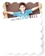 See Through Name Children's Personalized Stationery