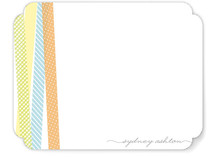 Washi Sorbet Children's Personalized Stationery