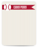 Home Run Children's Personalized Stationery
