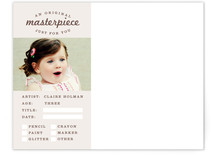 Masterpiece Children's Personalized Stationery