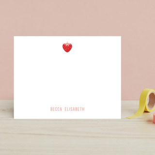 Berry Sweet Children's Personalized Stationery