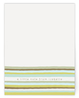 Vogue Stripes Children&#039;s Personalized Stationery