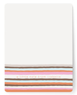 Vogue Stripes Children's Personalized Stationery