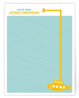 Yellow Submarine Children&#039;s Personalized Stationery