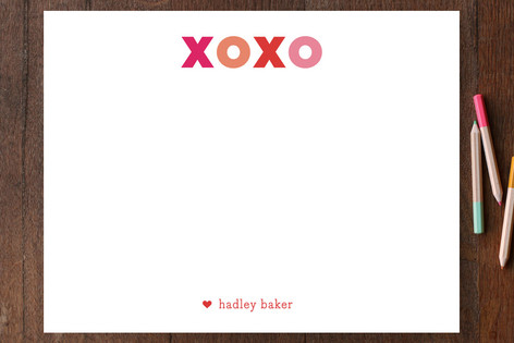 Love Simply Children's Personalized Stationery