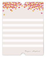 Hearts Abound Children's Personalized Stationery
