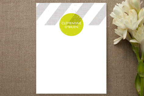 Fresh Squeezed Children's Personalized Stationery