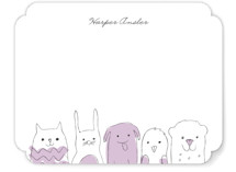 Peanut Gallery Children's Personalized Stationery