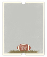 Football Children&#039;s Personalized Stationery