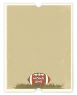 Football Children's Personalized Stationery