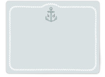 Girls like Anchors Children&#039;s Personalized Stationery