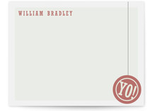 Yo! Children's Personalized Stationery