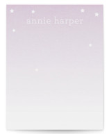 Stars for Annie Children&#039;s Personalized Stationery