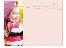 Sweetheart by Hand Children&#039;s Personalized Stationery