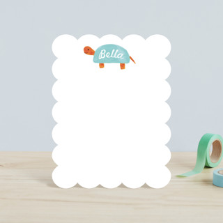 Turtle Children's Personalized Stationery