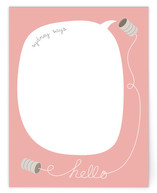 Hello... Can You Hear Me? Children's Personalized Stationery