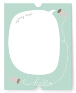 Hello... Can You Hear Me? Children&#039;s Personalized Stationery